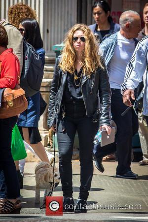 Natasha Lyonne - 'Orange is the new black' actress Natasha Lyonne walking her dog in Soho - New York City,...