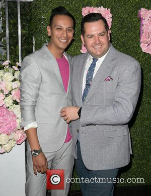Salvador Camarena and Ross Mathews - Lisa Vanderpump and Ken Todd attend launch of their newest culinary endeavor, PUMP Lounge,...