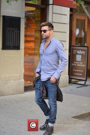 Ricky Martin - Ricky Martin walking in Soho - Manhattan, New York, United States - Tuesday 13th May 2014