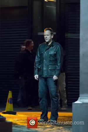 Kiefer Sutherland - Filming of U.S. television show '24: Live Another Day' continues in London.  In these scenes, Steve...