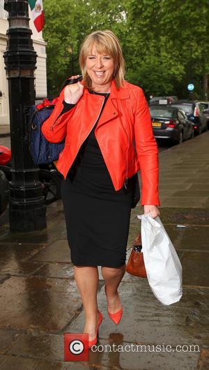 Fern Britton - Fern Britton arrives at The Lady Literary Lunch in London - London, United Kingdom - Tuesday 13th...