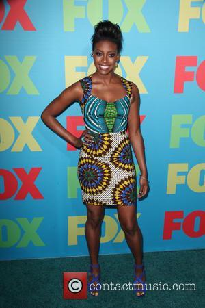 Condola Rashad - FOX Upfronts at The Beacon Theater - Arrivals - New York City, New York, United States -...