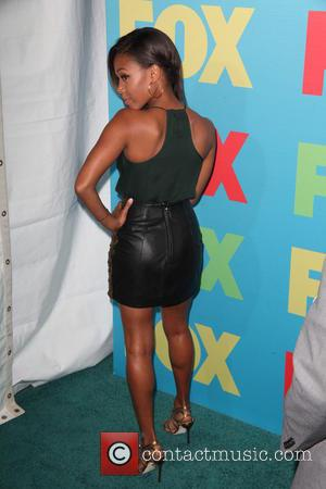 Nicole Beharie - FOX Upfronts at The Beacon Theater - Arrivals - New York City, New York, United States -...
