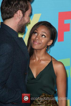 Tom Mison and Nicole Beharie - FOX Upfronts at The Beacon Theater - Arrivals - New York City, New York,...