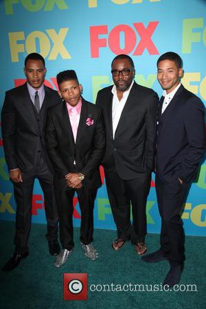 Trai Byers, Bryshere Gray, Lee Daniels and Jussie Smollet