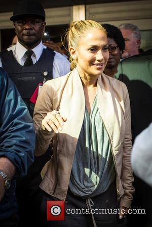 J Lo and Jennifer Lopez - Jennifer Lopez aka J Lo leaving the Montefiore Children's Hospital in the Bronx -...