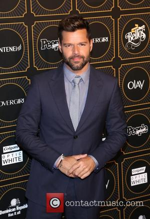Ricky Martin - People En Espanol 2014 Los 50 Mas Bellos Event at Capitale on May 12, 2014 in New...