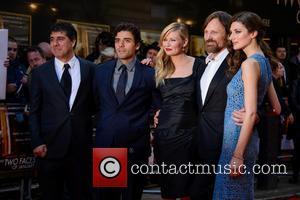 Hossein Amini, Oscar Isaac, Kirsten Dunst, Viggo Mortensen and Daisy Bevan
