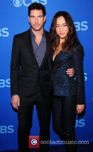 Dillon Mcdermott and Maggie Q