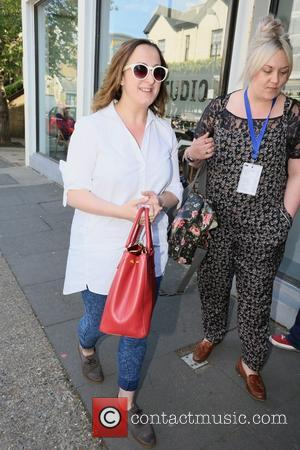 Natalie Cassidy - Celebrities arrive at Riverside studios for Celebrity Juice - London, United Kingdom - Wednesday 14th May 2014