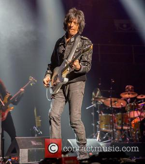 Jeff Beck - Jeff Beck performing live at the Royal Albert Hall - London, United Kingdom - Wednesday 14th May...