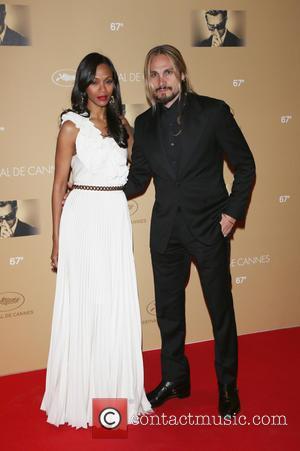 Zoe Saldana and Husband Marco Perego