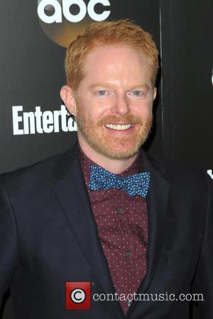 Jesse Tyler Ferguson - Entertainment Weekly and ABC Network 2014 Upfront Presentation - Arrivals - Manhattan, New York, United States...