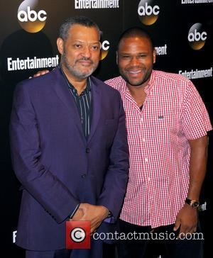 Lawrence Fishburne and Anthony Anderson