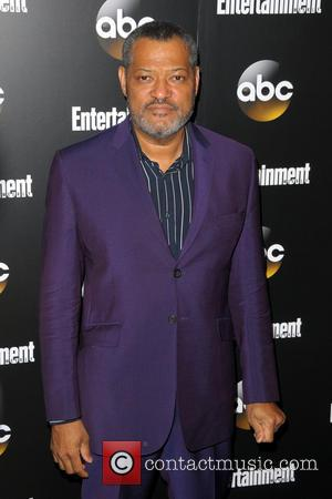 Lawrence Fishburne - Entertainment Weekly and ABC Network 2014 Upfront Presentation - Arrivals - Manhattan, New York, United States -...