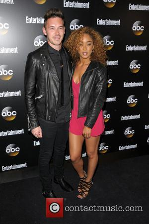 Sam Palladio and Chaley Rose - Entertainment Weekly and ABC Network 2014 Upfront Presentation - Arrivals - Manhattan, New York,...