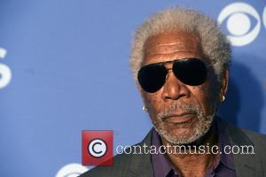 Morgan Freeman - 2014 CBS Upfront Presentation, New York - New York, New York, United States - Wednesday 14th May...