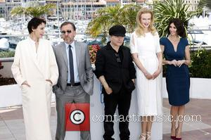 Jeanne Balibar, Tim Roth, Olivier Dahan, Nicole Kidman and Paz Vega - 67th Cannes Film Festival - Grace de Monaco...