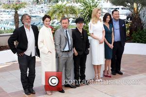 Pierre-Ange Le Pogam, Jeanne Balibar, Tim Roth, Olivier Dahan, Nicole Kidman and Paz Vega - 67th Cannes Film Festival -...