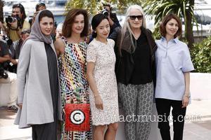 Leila Hatami, Jeon Do-yeon, Jane Campion, Carole Bouquet and Sofia Coppola