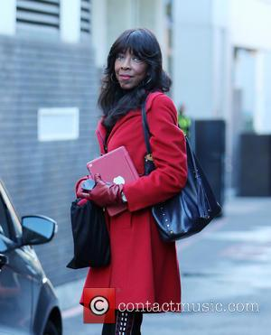 Natalie Cole - Natalie Cole outside ITV Studios - London, United Kingdom - Wednesday 14th May 2014