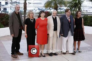 Dorothy Atkinson, Marion Bailey, Timothy Spall and Mike Leigh