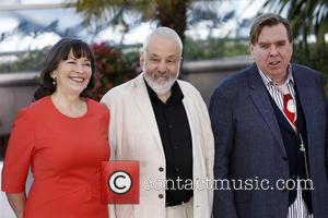 Marion Bailey, Timothy Spall and Mike Leigh