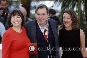 Marion Bailey and Timothy Spall