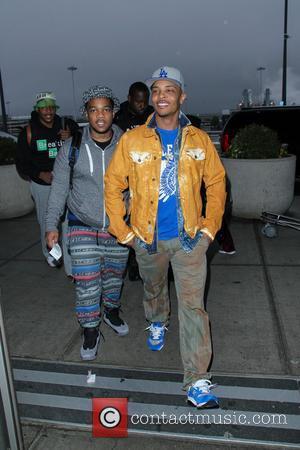 T.I. - Rapper T.I. arriving at JFK