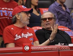 James L. Brooks and Jack Nicholson
