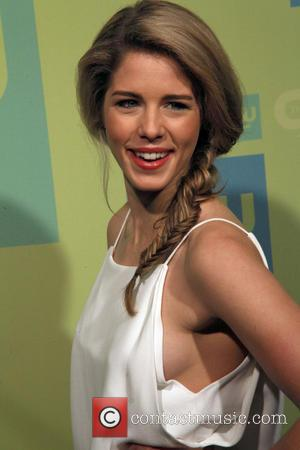 Emily Bett Rickards - The CW Upfronts 2014 at The London Hotel by The New York City Center - NYC,...