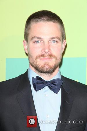 Stephen Amell - The CW Upfronts 2014 at The London Hotel by The New York City Center - NYC, New...