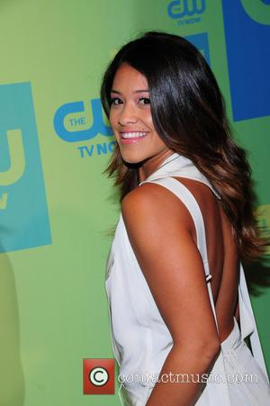 Gina Rodriguez - CW Network's New York 2014 Upfront Presentation at The London Hotel - Arrivals - New York City,...