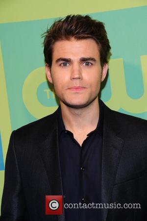 Paul Wesley - CW Network's New York 2014 Upfront Presentation at The London Hotel - Arrivals - New York City,...