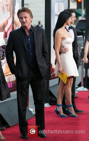 Sean Penn, Sarah Silverman and Michael Sheen