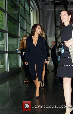 Khloé Kardashian and Kim Kardashian - NBCUniversal Cable Entertainment presents An All together Upfront celebration at Javits Center in New...