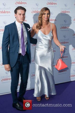 Ferne McCann and Charlie Sims - The 2014 Caudwell Butterfly Ball held at Grosvenor House - Arrivals. - London, United...