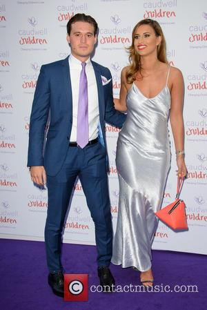 Ferne McCann and Charlie Sims - Caudwell Children Butterfly Ball 2014 held at the Grosvenor Hotel - Arrivals - London,...