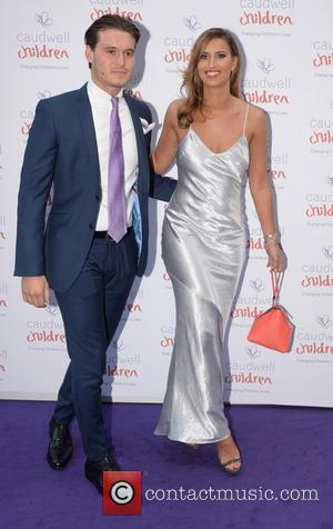 Ferne McCann and Charlie Simms - The Caudwell Children Butterfly Ball held at Grosvenor House - London, United Kingdom -...