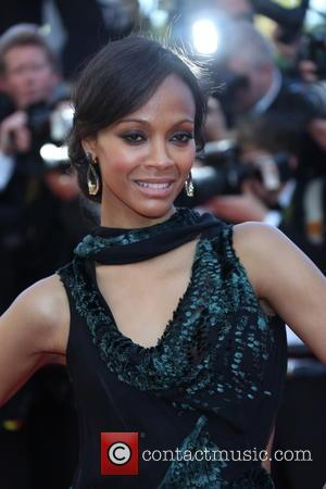 Zoe Saldana - Cannes Film Festival - 'Mr Turner' -...