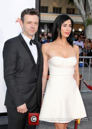 Michael Sheen and Sarah Silverman - Celebrities attend the world premiere of 'A Million Ways To Die in the West'...