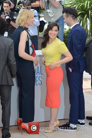 America Ferrera and Cate Blanchett - The 67th Annual Cannes Film Festival - Dragon 2 - Photocall - Cannes, France...