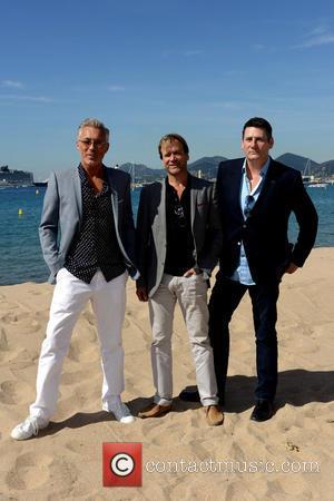 Spandau Ballet, Martin Kemp, Steve Norman and Tony Hadley