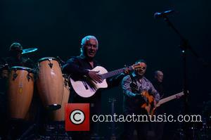 Pablo Reyes and Andre Reyes - The Gipsy Kings perform at Hard Rock Live in the Seminole Hard Rock Hotel...