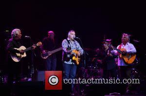 Pablo Reyes, Andre Reyes, Nicolas Reyes and Tonino Baillardo - The Gipsy Kings perform at Hard Rock Live in the...