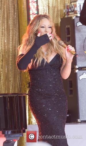 Mariah Carey - Mariah Carey, performs on The Today Show, alongside Wale, to promote her new album