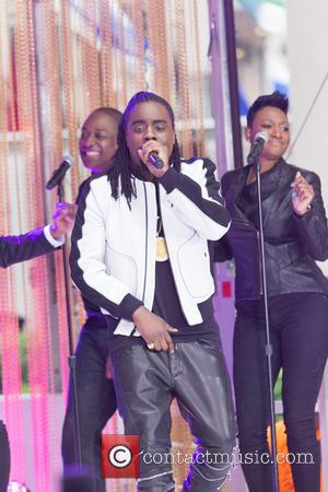 Wale - Mariah Carey, performs on The Today Show, alongside Wale, to promote her new album