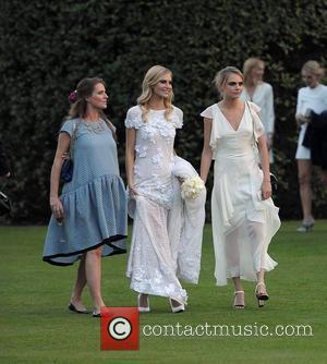 Chloe Delevingne, Poppy Delevingne and Cara Delevingne
