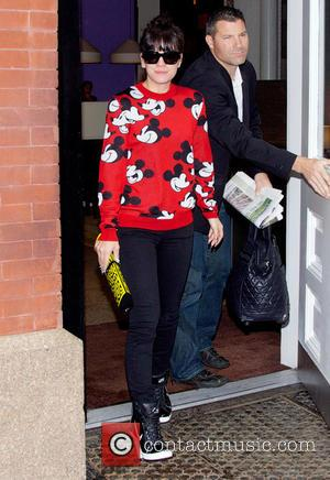 Lily Allen and Lily Allen - Lily Allen leaving her hotel in SoHo, New York City - New York City,...