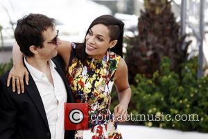 Atom Egoyan and Rosario Dawson